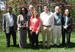 Members of the Park Advisory Committee for 2014-2015 (L to R): Abhinav Gupta, Jocelyn Taliaferro (Chair), Keith Fishburne, Kristin Murphy, Derek Aday, Bill Swallow, Jo-Ann Cohen