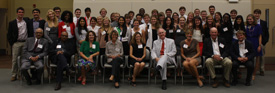 The Park Class of 2015 with Leadership Coaches during Leadership Academy