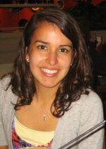 National Science Foundation Graduate Research Fellowship recipient Allie Landry.