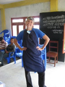 Anna Shope '08 hosted dental clinics in rural Nepal for two weeks during the summer of 2010.