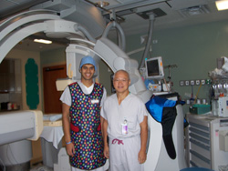 Sudeep Sunthankar '12 interning at East Carolina University's Brody School of Medicine - Summer 2010