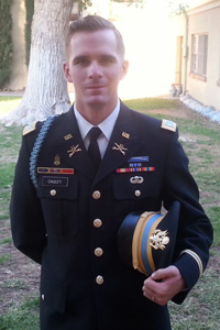 William Cauley '12, U.S. Army