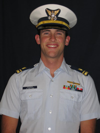 Cameron Cooper '09, U.S. Coast Guard