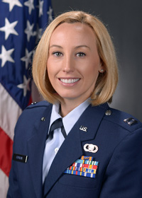 Katy (Horner) Couron '09, U.S. Air Force