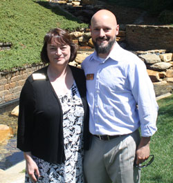 Dr. Lisa Bullard and Andy Fox, Park Faculty Scholars for the Class of 2018