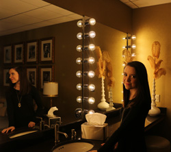 Amanda Cannon '17 backstage at the Grand Ole Opry