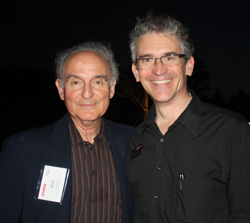 Dr. Jim Martin (right) with Dr. Bob Grossfeld during sPark 2016