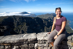 Carrie Farley '00 in Cape Town, South Africa