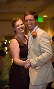 Tripp Polen '03 with his sister Dr. Amy Polen Stallings '00.
