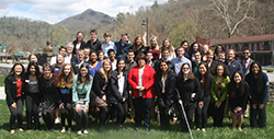 Park Class of 2020 with Terri Henry, Secretary of State, Eastern Band of Cherokee Indians