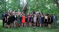 Park Class of 2017 Scholars at their senior gala - May 2017