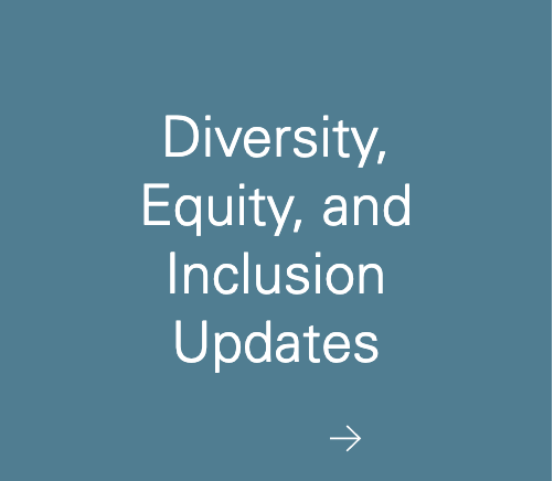 Diversity, Equity, and Inclusion Updates