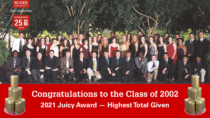 Highest Total Given by the Class of 2002