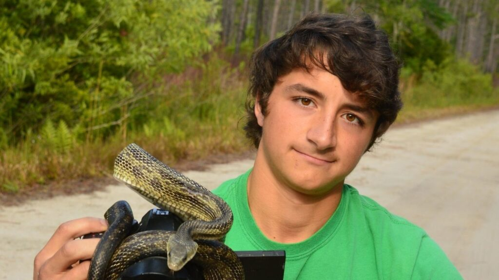 NC State Student Ben Zino is Promoting Wildlife Conservation, One Video at a Time, College of Natural Resources, Ben Zino, feature - College of Natural Resources News NC State University